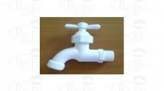 14 LLAVE JARDIN PLASTICA BLANCA - ref 3211352